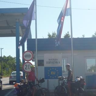 La frontière croate
