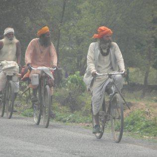 Sadhu en transit